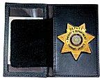 <b>Book Style Badge Case w/Oversized ID</b>