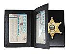 <b>Book Style Badge Case w/2 ID Windows</b>