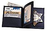 <b>Book Style Badge Wallet w/Credit Card Slots - Soft</b>