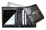 <b>Book Style Badge Wallet w/Flip-Out Badge Flap</b>