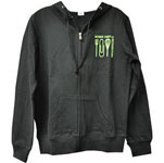 Chefwear 4610-WCR, WCR - Black Zip Up Hoodie