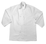 Eagle Work Clothes CCHDC Short Sleeve Chef Coat-8 Buttons