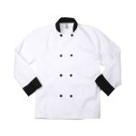 Eagle Work Clothes CCTDC Chef Coat-Trim-But.