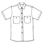 Eagle Work Clothes SHHCO Short Sleeve Shirt-Cotton