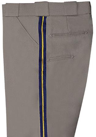 CHP Trouser Poly/Wool w/ half pocket, Tan, Men's