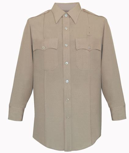 Men's CA State Parks Shirt - Long Sleeves, Silver Tan