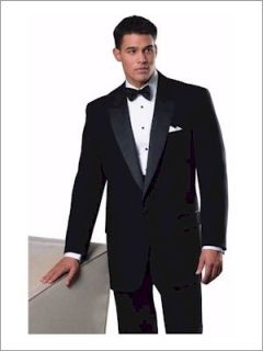 Fabian Couture Group International 3002C, 100% Polyester 1 Button Notch Tux Jacket