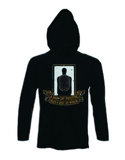 Hero's Pride 8847 A Bad Day Shooting - Sweatshirt Hood