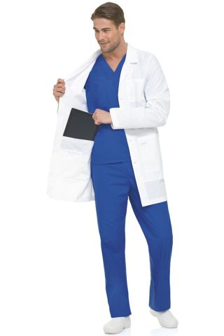 Landau 3174 Men's Labcoat w/Ipad Pocket