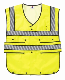 Liberty Uniforms 588M 5-point break-away Safety Vest