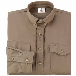 NJATC FR 10337 Westex UltraSoft Woven Button Front Shirt