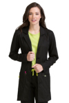 Med Couture 5601 Empire Mid Length Lab Coat