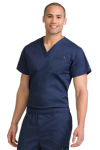 Med Couture 8486 Mens 1 Pocket Top