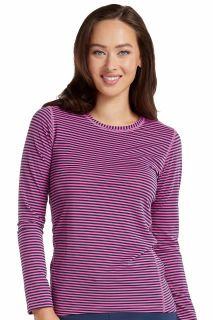 Med Couture 8522 Performance Knit Stripe Tee