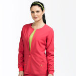 Med Couture 8638 Zip Front Warm Up