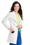 "Peaches 8680 30"" Med Couture Lab Coat"