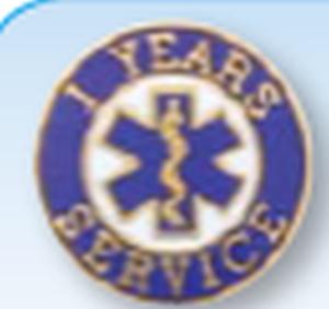 Premier Emblem FDEMSSERVICEPINS 3/4