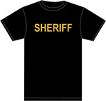 SHERIFF 100% COTTON T-SHIRT