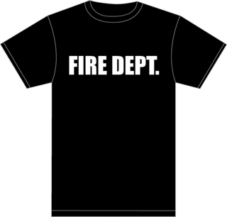 Premier Emblem T1000-WFD FIRE DEPT. 100% COTTON T-SHIRT