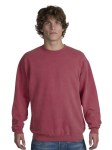 District Threads® - Pigment-Dyed Crewneck Sweatshirt.  DT102