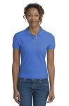 District Threads® - Junior Ladies Original Stretch Pique Polo.DT301