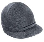 District Threads® - Knit Hat with Bill.DT603