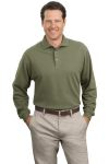 Port Authority® - Long Sleeve Pique Knit Sport Shirt. K320