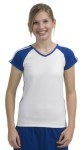 Sport-Tek® - Ladies V-Neck Colorblock T-Shirt.L205
