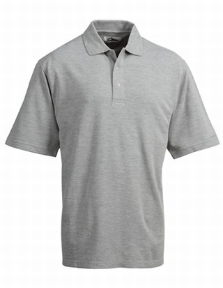 Tri-Mountain 305 Assembly-Men's 60/40 Easy Care Knit Shirt With Snap Closure. Ideal Cook Shirt.