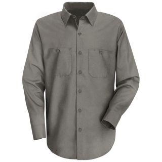 Red Kap® SC30 Mens Wrinkle-Resistant Cotton Work Shirt