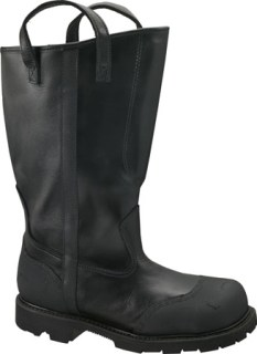 "Thorogood Shoes 504-6373 504-6373 14"" Women's Structural Fire Fighting Oblique Toe Bunker Boot"