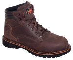 "Thorogood Shoes 804-4278 6"" Work Boot Safety Toe"