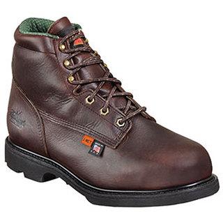 "Thorogood Shoes 804-4541 6"" Plain Toe - Internal Metatarsal - Safety Toe"