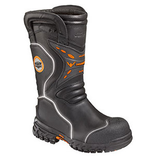 "Thorogood Shoes 804-6389 14"" Knockdown Elite Structural Bunker Boot"