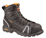 "Thorogood Shoes 804-6444 804-6444 6"" Plain Toe - Lace-To-Toe - Composite Safety Toe"
