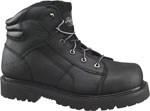 "Thorogood Shoes 804-6450 804-6450 6"" Black Lace-To-Toe Semi-Oblique - Safety Toe"