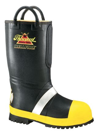 Thorogood Shoes 807-6000 807-6000 Rubber Insulated Fire Boot With Lug Sole