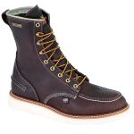 "Thorogood Shoes 814-3800 8"" Moc Toe, Waterproof Non-Safety"