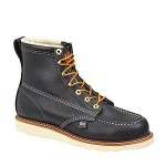 "Thorogood Shoes 814-6201 814-6201 6"" Black Moc Toe Non-Safety"