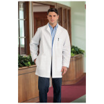 "White Swan 1168 Meta Men's 34"" Mid-Length Labcoat"