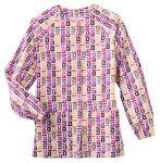 14373 Bio Prints Ladies Raglan Sleeve Warm Up Jacket