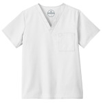 White Swan 14900 Fundamentals Unisex One Pocket Top