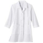 "White Swan 15012 Meta Fundamentals 33"" 3/4 Sleeve Ladies Labcoat"