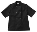 White Swan 18001 Five Star Short Sleeve Chef Jacket