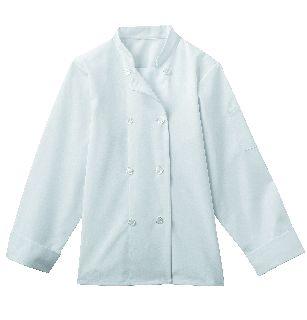 White Swan 18026 Five Star Ladies 8 Button Chef Jacket
