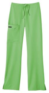 White Swan 2249 Jockey Classic Ladies 1/2 Elastic, 1/2 Drawstring Stretch Zipper Pocket Pant