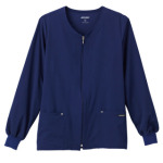 White Swan 2378 Jockey® Classic Ladies V-Neck Zip-Up Jacket
