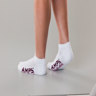 White Swan 5852 AMPS Ladies Low Cut Performance Sock