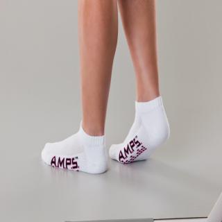 White Swan 5852 AMPS Ladies Low Cut Performance Sock