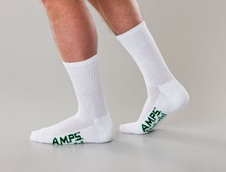 White Swan 5874 AMPS Mens Crew Performance Sock